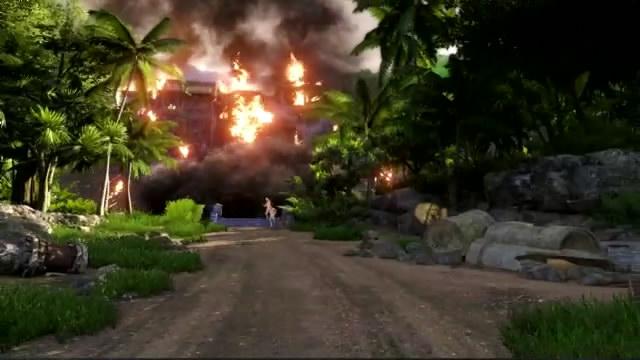 Видео Far Cry 3 – побег из горящего здания (видео)