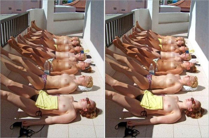 Найдите 7 отличий (2 фото)