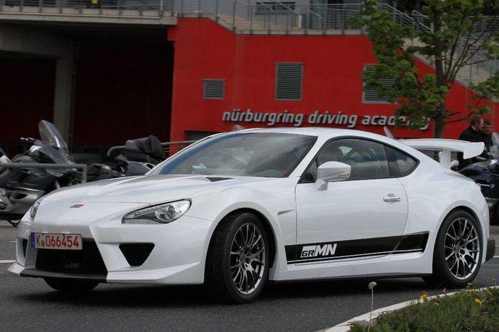 Компания Gazoo Racing доработала Toyota GT 86 (27 фото)