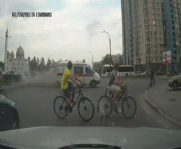 Авария с участием скорой помощи