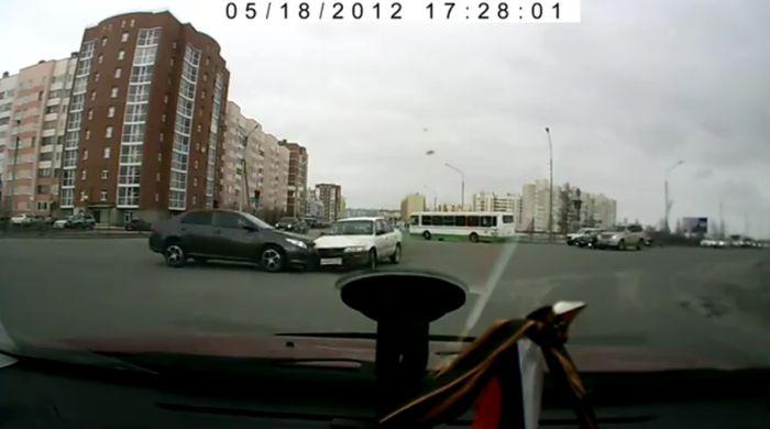 Авария дня часть 580 (фото+видео)