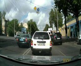 Милиция Одессы спровоцировала аварию