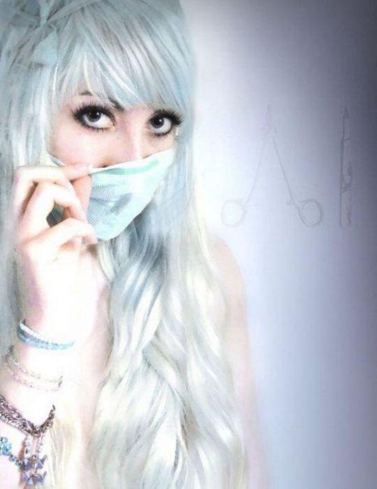 Эмо девушки на море фото блондинок фото 347-466