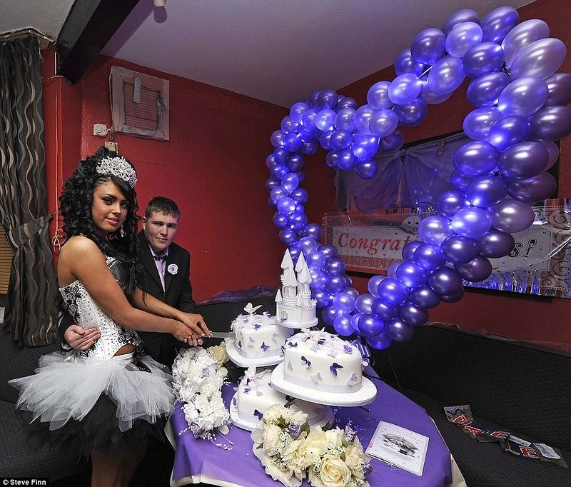 Гламурная цыганская свадьба 23 фото