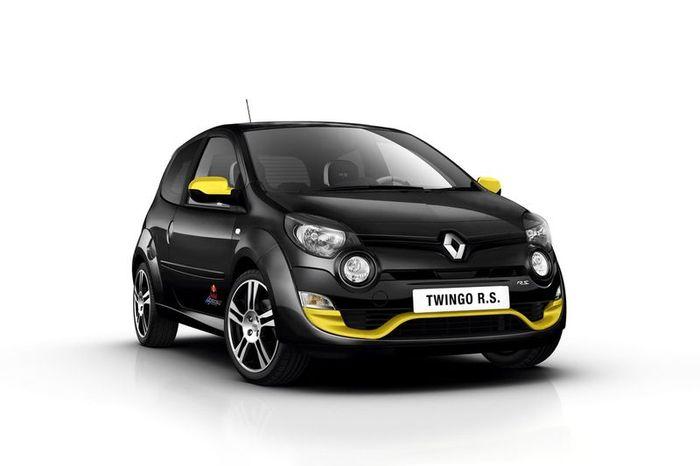 Renault и Red Bull подготовили заряженную версию Twingo RS (9 фото)