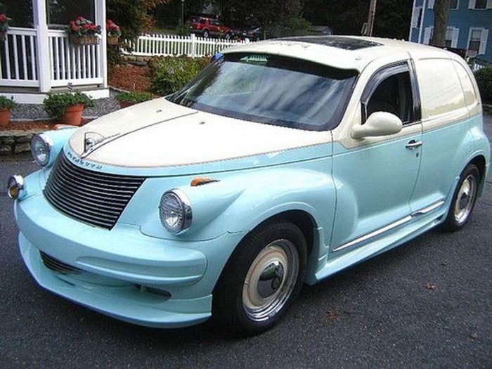 Chrysler PT Cruiser затюнили под старину (24 фото)