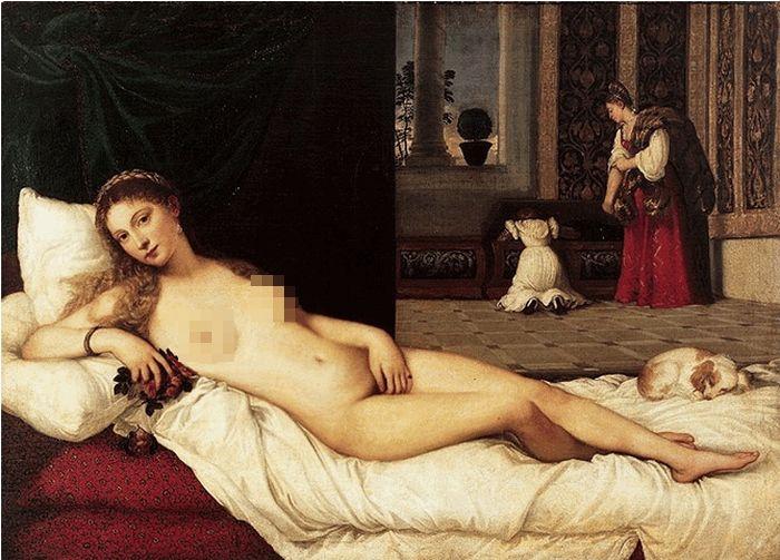 Женский идеал красоты: тогда и сейчас (7 гифок)
