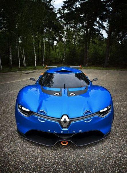 Авто-марка Alpine и компания Renault создали новый спорт-концепт (8 фото)