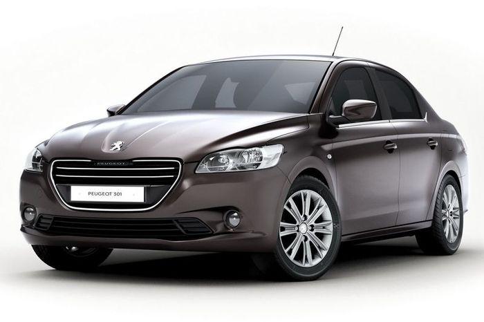 Компания Peugeot рассекретила новый компактный седан 301 (11 фото)