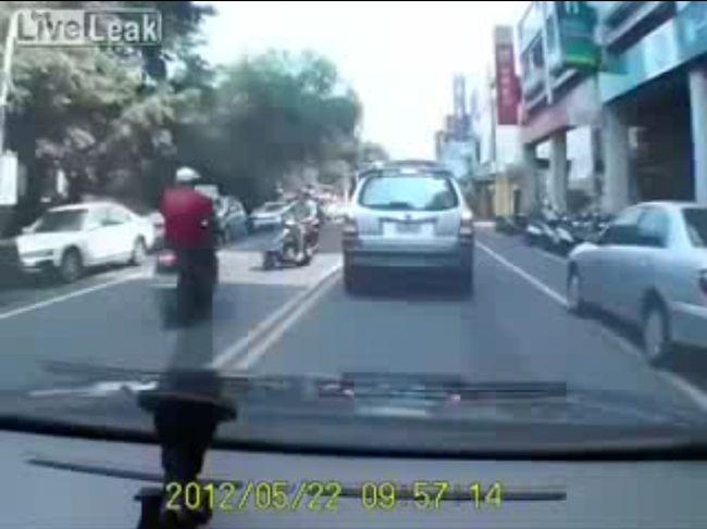 Авария дня часть 583 (фото+видео)