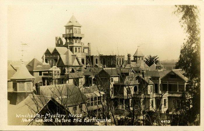 Дом с привидениями семьи Винчестер (15 фото)