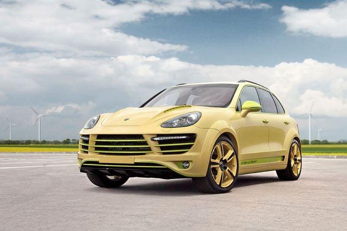 Porsche Cayenne Vantage 2 Lemon от ателье TopCar (23 фото)