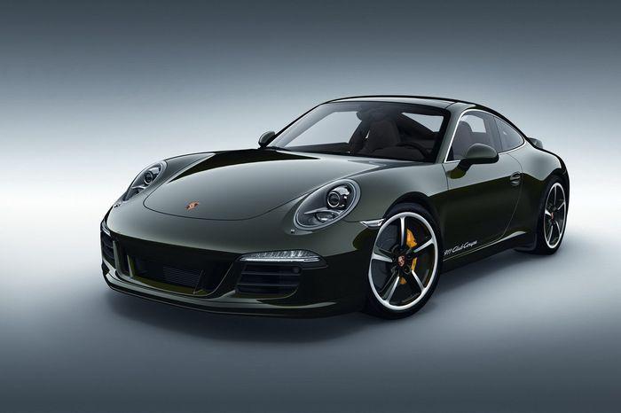 Porsche отметил 60-летие своего клуба спецверсией 911 Club Coupe (5 фото)