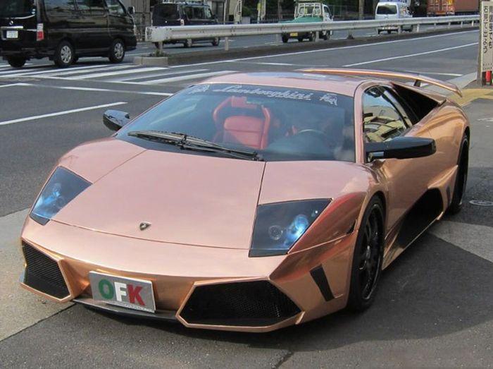 Компания Office-K представила Lamborghini Murcielago в розовом золоте (6 фото)