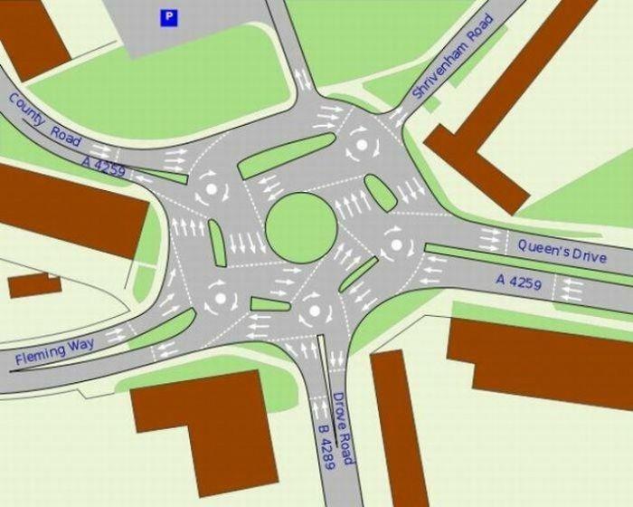 Перекресток шести дорог (5 фото)