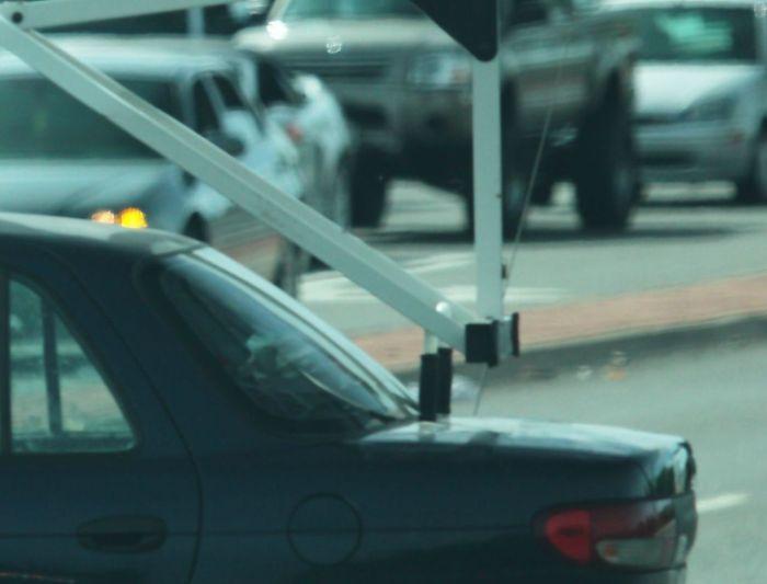 Огромная тяга к спорту на автомобиле (3 фото)