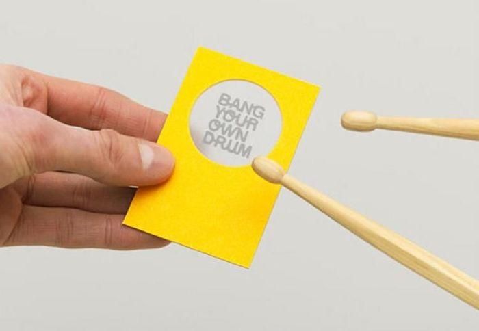 Креативные визитки (27 фото)