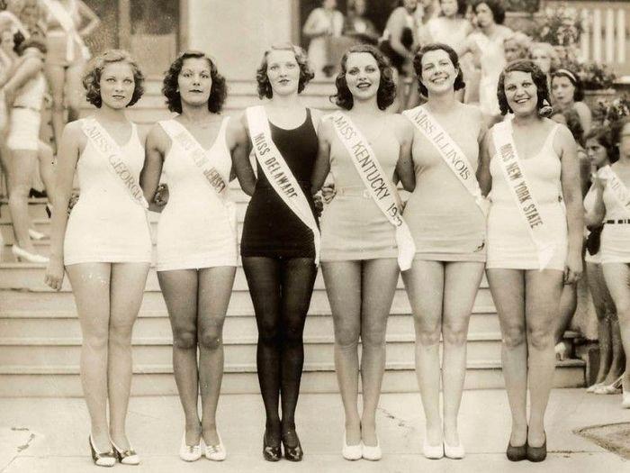 Конкурсы красоты в Америке (18 фото)