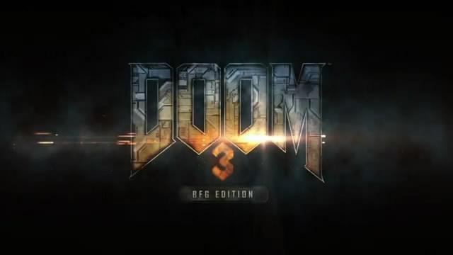 Анонсировано переиздание Doom 3 BFG Edition(видео)