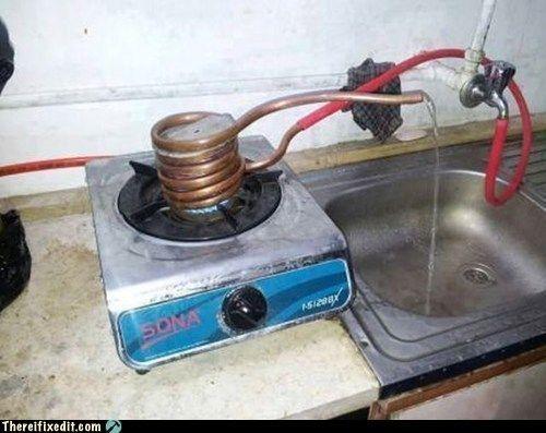 Улетное фото горячая вода, кран, своими руками