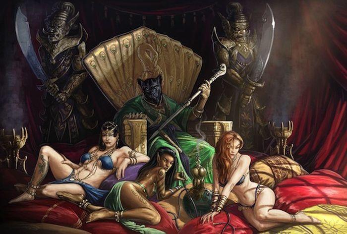 мифические существа, религия, демоны, злые духи,