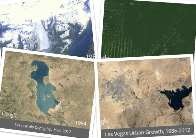 Как изменилась планета за 30 лет (1984-2012) Tn