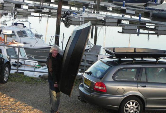 авто, лодка-багажник