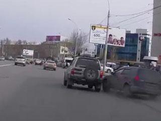 ДТП в Новосибирске