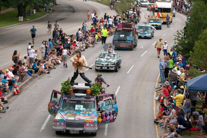 авто, хьюстон, art car parade