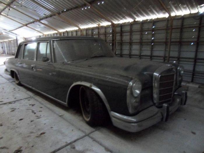авто, ретро авто, mercedes-benz 600