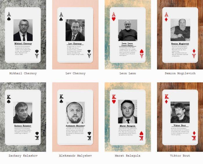игральные карты, мафия, шестерки, колода
