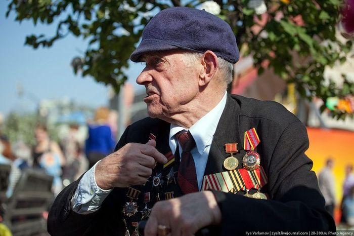 праздник, день победы, ветераны