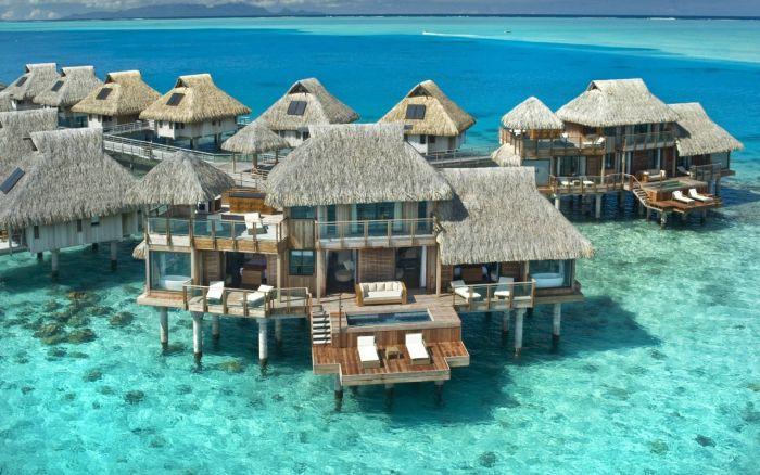 Фото домики, мальдивские острова, мальдивы, тропики