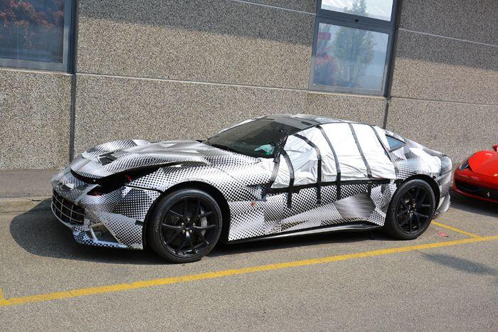 авто, ferrari, прототипы, тестовые авто