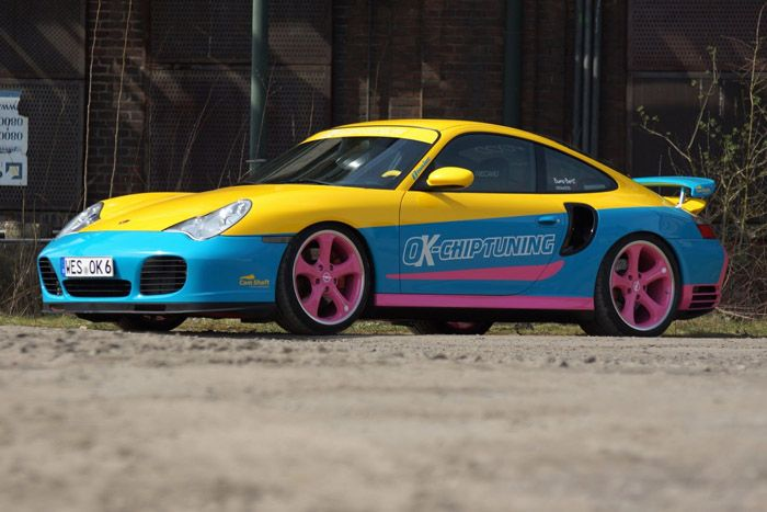 авто, porsche 911 turbo, ok-chiptuning