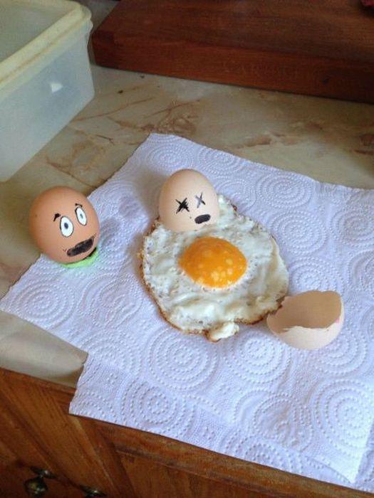 Фото яичница, яйцо