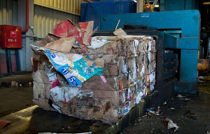 мусор, контейнер, музей, завод