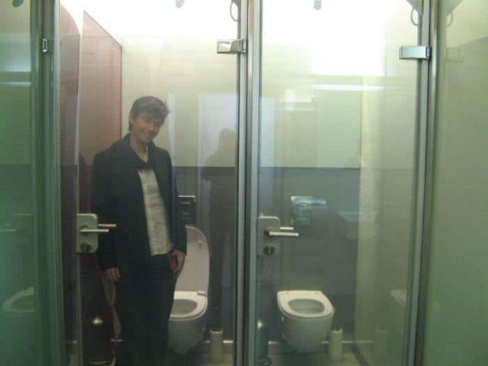 вена, туалет