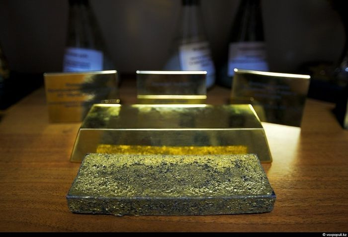 казахстан, золото, добыча