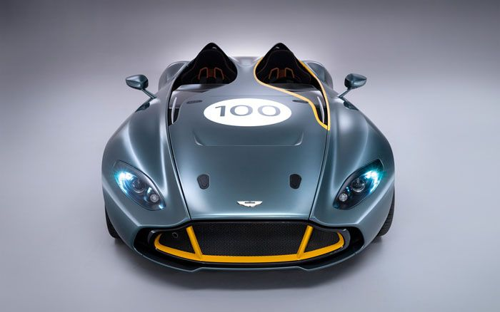 авто, aston martin, cc100 speedster, концепт