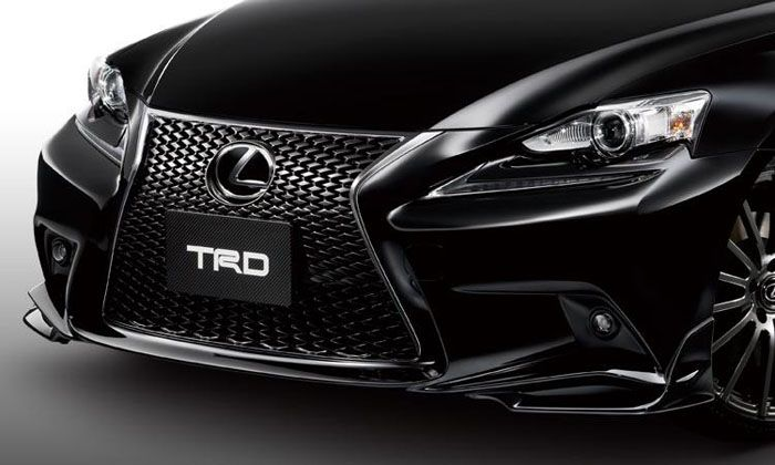 авто, lexus is, trd