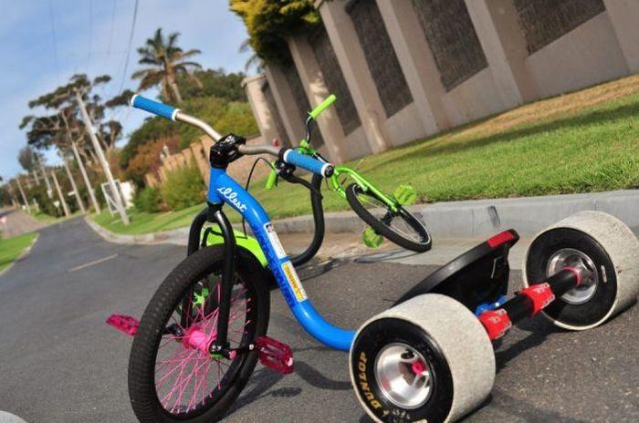 Смешные картинки детский велосипед, колеса, крутой