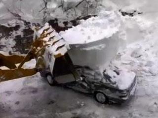 Снежный автомобиль