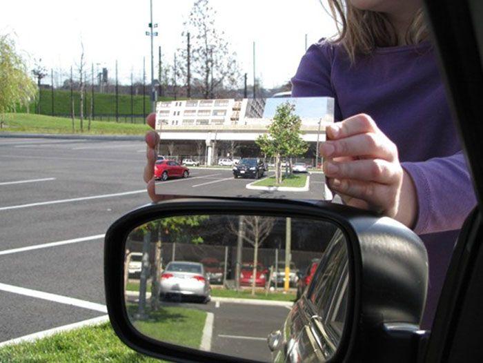 авто, зеркало, мертвая зона,