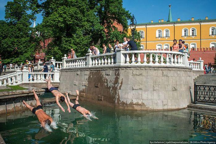 москва, столица, двор, парковка, улица, красота
