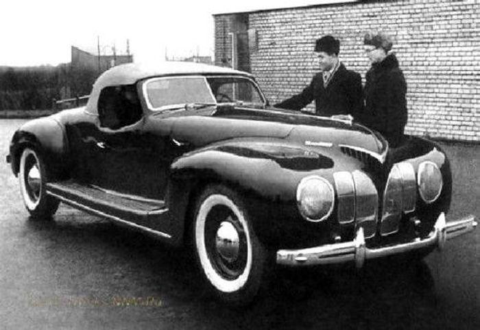 авто, кабриолет, советские авто,