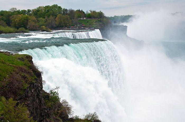 водопад, брызги, ниагара