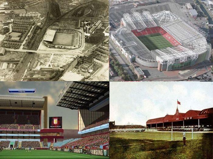 стадион, до и после