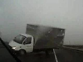 ДТП из-за сильного ветра