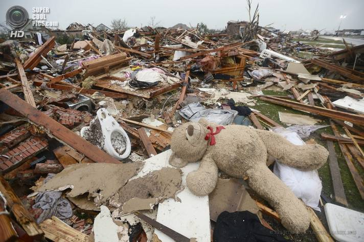оклахома, торнадо, сша, ураган, катаклизм,